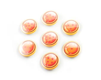 "Dragonball Z 1.25"" Buttons"
