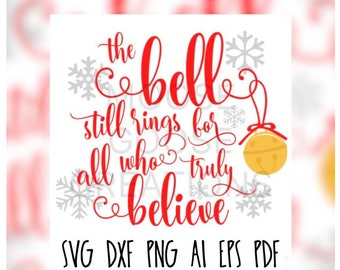 The Bell Still Rings Cricut, Silhouette, Brother Cut File / Digital Download *SVG DXF PNG*