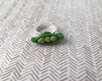 Ring Kawaii little bean