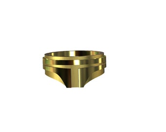 Ring Boba Fett 18 k Gold