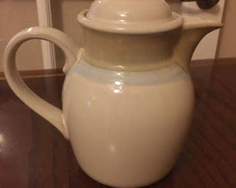 Noritake Stoneware, Painted Desert (8603), Tea/Coffee Pot with Lid