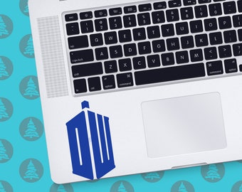 Doctor Who Tardis MacBook Decal Dr Who decal Whovian Gallifreyan Dalek Time lord Police box Gallifrey
