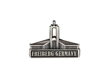 Freiberg Germany Temple Silver Pin - LDS Gifts