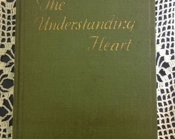 Vintage Recycled Book Journal - The Understanding Heart
