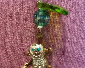 Happy Monkey Suncatcher Prisms