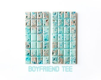 Boyfriend Tee Wax Melts (5.1 Oz.) - Masculine Scented - Manly Scents - Hand Poured Wax - Scented Wax Melts - Wax Melt Snap Bars - Wax Bars