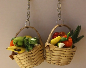 Fruit Basket Earrings