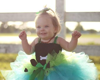 pebbles tutu pebbles costume pebbles tutu set pebbles dress up pebbles tutu