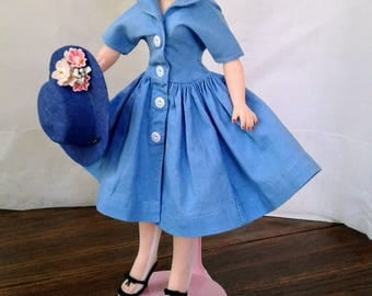 Little Miss Revlon Doll Dress Hat Ideal Tagged LMR Outfit Doll Clothes