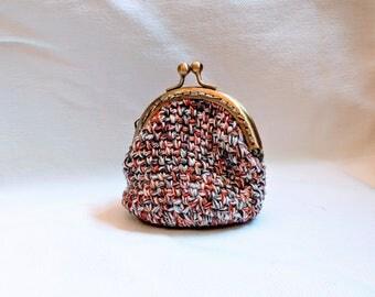 Borsellino portasoldi all'uncinetto - Small crochet purse