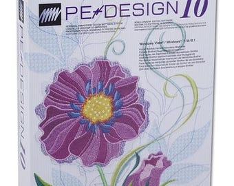 Brother PE Design 10 Embroidery software Full Version & FREE GIFTS (Digital Download)