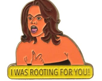 """TYRA BANKS """"I was rooting for you you!"""""""