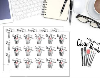 Reminder Planner Stickers, Make up Sticker, Beauty stickers, Makeup Sticker, Chores Planner Sticker, Planner Accessories, Cute Kawaii