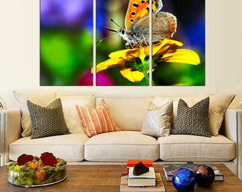 Wall decor Butterfly canvas print Butterfly wall art Decor canvas Butterfly Nursery Decor Canvas Butterfly Print canvas Butterfly Decor