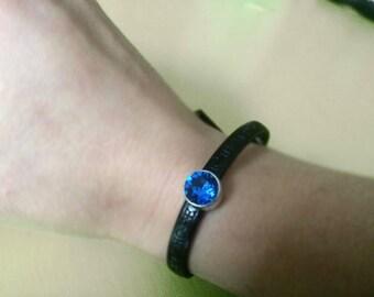 Bracelet with Swarovski Heart Hope Love