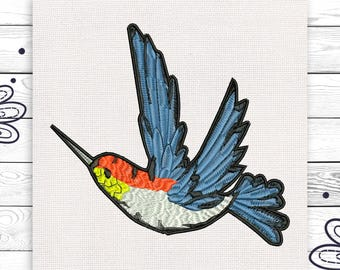 Bird design Discount 10% Machine digital design 4 sizes INSTANT DOWNLOAD EE5097