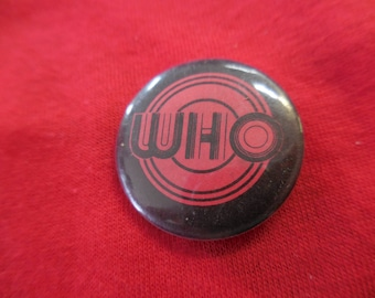 70s 80s The Who vintage Pin Back Button
