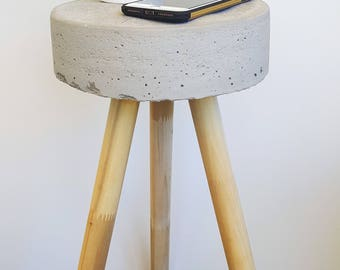 Sleek and Simple Anywere Concrete Stool