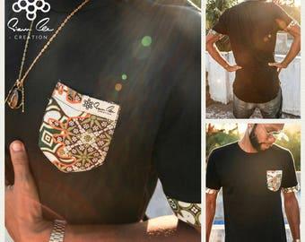 SIAM LEE CREATION : Long Fit T-Shirt Batik design