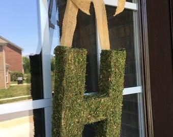 Moss Covered Door Letter