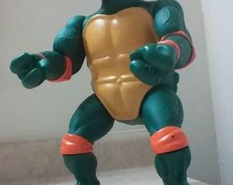 Large Vintage 1989 Teenage Mutant Ninja Turtle