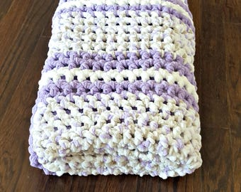 Little Lilac Afghan