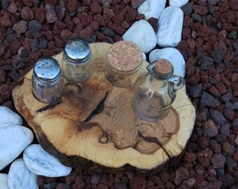 Salt Shaker & pepper wood