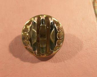Glass bimini style 1950's button.