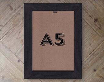 A5 WOODEN FRAMES