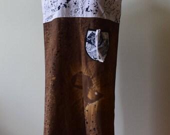 Woodin dress, African dress.