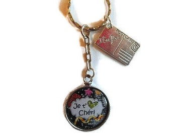 "Door keys/honey / ""I love you Darling"" / Wonderland faby/gift/birthday / party / thanks/Christmas/holiday Valentine"