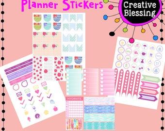 Flower Printable Stickers
