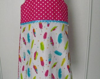 Pretty little dress T 6T, pinafore