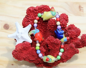 Tropical Toucan Bracelet
