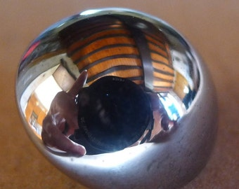 12 balls buttons metal vintage 1960