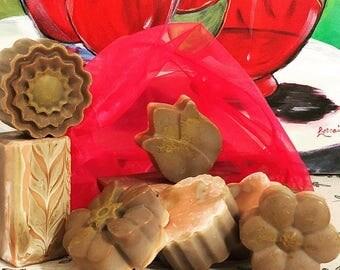 Creamcicle-Calendula Soap / Savon de Vanille-Orange-Calendula