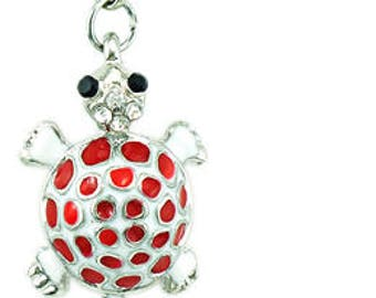Red turtle Charms pendant