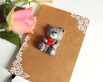 """Small Notebook with Bear """"Me to You"""""""