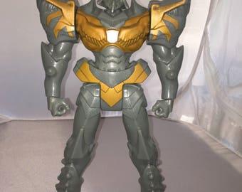 "PLAYSKOOL HEROES Transformers Rescue Bots 11-12"" Grimlock Figure Free Ship!"