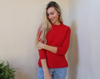 50% off!! cherry cashmere