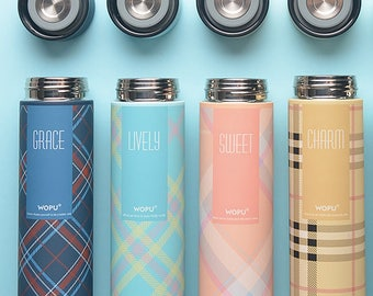 Tea Thermos, Scotland Thermos Bottle 500 ml, Thermos Hot Water, Picnic Bottle, Coffee To Go Bottle, Sweet Thermos, Daily Thermos For Work