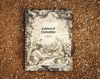 Cabinet of Curiosities De Historia Piscium NoteBook -- (8.5 x 11 inches) Side-bound Notebook