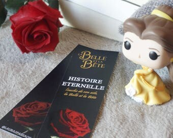 "Bookmark quote / lyrics / song Tale as old as time - Beauty and the Beast ""Tale as old as time, Song as old as rhyme, Beauty and the Beast"""