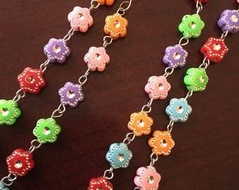 "Handmade Colorful ""Rose""-ary"