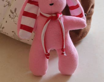 The toy pink soft fleece