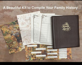 Your Family History Binder Kit