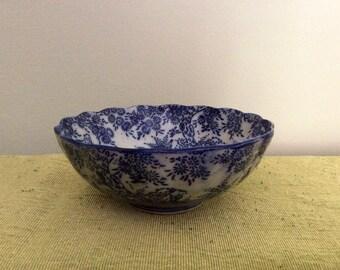 Antique Bleu Blanc Bowl