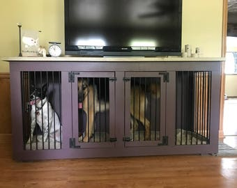 Dog kennel | Etsy