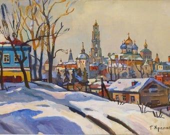 Georgiy Khrapak, print on canvas, 60 x 80