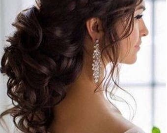 BRIDAL Deluxe Human Hair Clip-in hair extensions - all colours - all lengths (wedding edition)